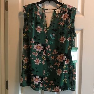 Cabi Shadow Blouse size Med NWT
